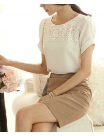 blouse wanita korea T3173