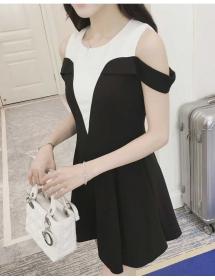 dress wanita import D3352