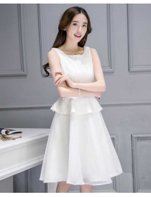 dress korea D3355