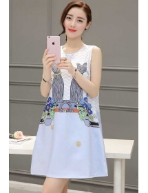 dress korea D3357