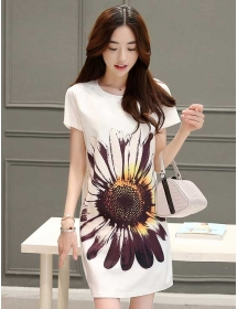 dress korea D3366