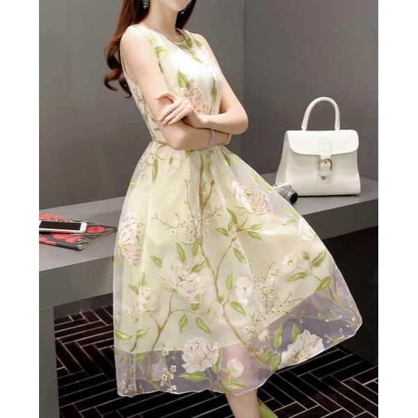 Midi Dress Korea D3369 Moro Fashion