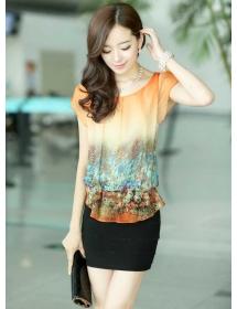 dress wanita import D3375