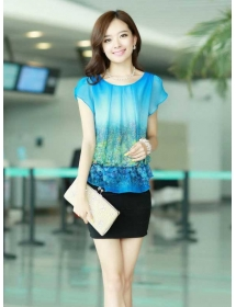 dress wanita import D3376