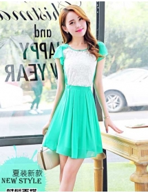 dress wanita import D3379