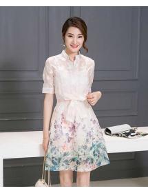 dress korea D3384