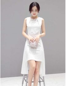 dress pesta import D3394