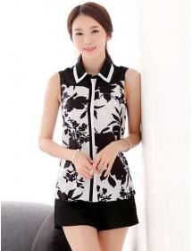 kemeja wanita korea T3198