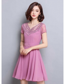 dress korea D3397