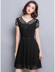 dress korea D3399
