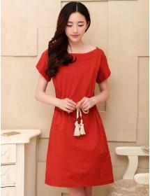 dress wanita import D3411