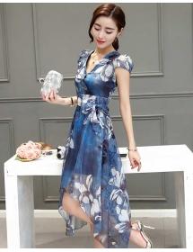dress wanita korea D3426