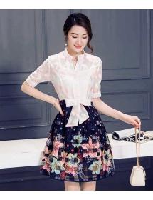 dress korea D3427
