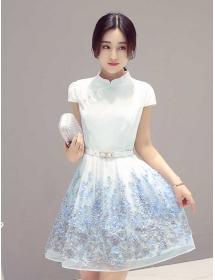 dress cheongsam D3432