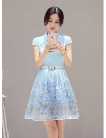 dress cheongsam D3433