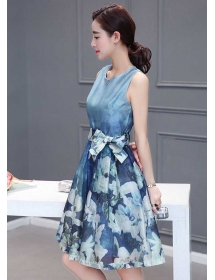 dress korea D3446