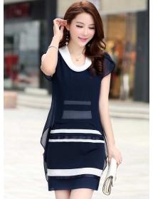 dress wanita import D3450