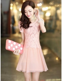 dress brukat D3452
