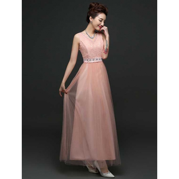 Long Dress Pesta D3457 Moro Fashion