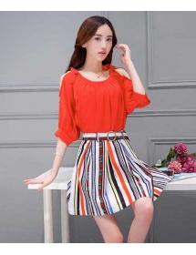 blouse wanita korea T3244