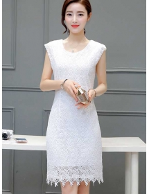 dress brukat D3486