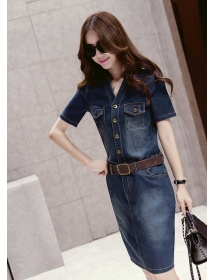 dress denim D3489