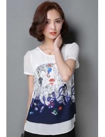 blouse wanita import T3253