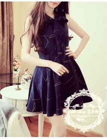 dress wanita import D3528