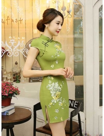 dress cheongsam D3544