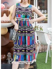 midi dress batik D3550