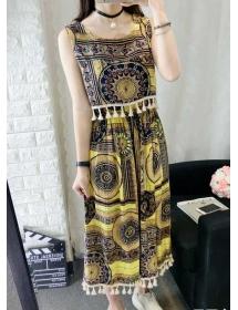 midi dress batik D3551