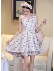 dress korea D3588