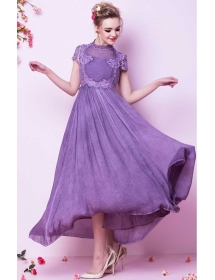 long dress pesta D3597