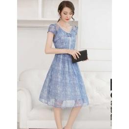 Midi Dress Korea D3598 Moro Fashion