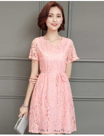 dress brukat D3611