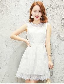 dress korea D3343