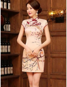dress cheongsam D3617