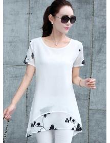 blouse chiffon T3307