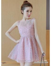 dress pesta D3633