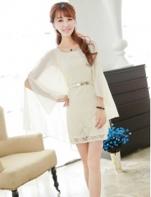 dress brukat import D3667