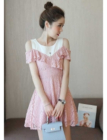 dress brukat D3672