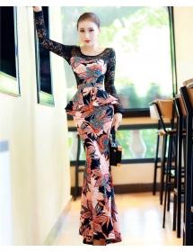 long dress batik D3674