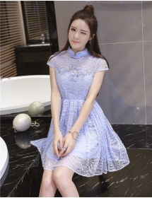 dress brukat D3679