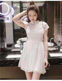 dress brukat D3680