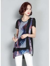 blouse chiffon t3331