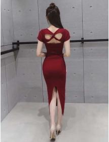 midi dress D3683