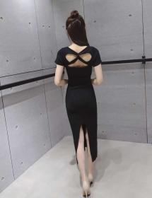midi dress D3684