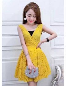 dress brukat D3703