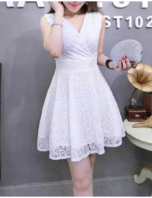 dress brukat D3706