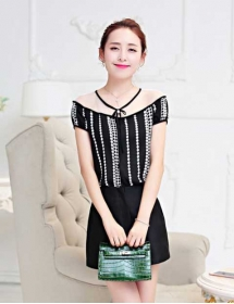 blouse korea T3350